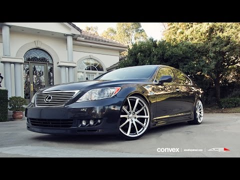 LEXUS LS460 on 22