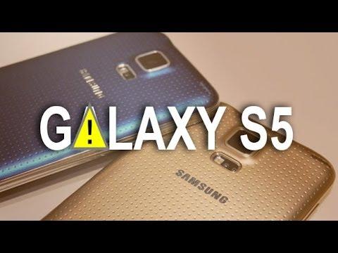 Grave fallo en la cámara del Samsung Galaxy S5
