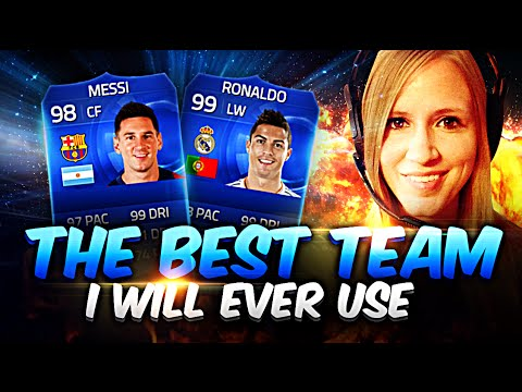 THE GREATEST TEAM I WILL EVER USE!!! FIFA 15 ULTIMATE TEAM