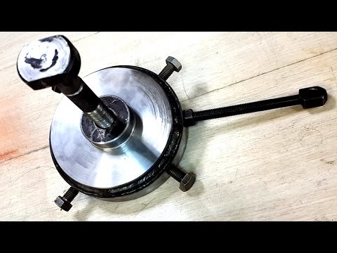 Самодельный съемник шкивов / The puller
