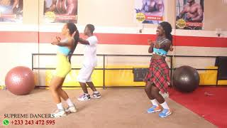 SHATTA WALE - BORJOR | OFFICIAL VIDEO BY SUPREME DANCERS