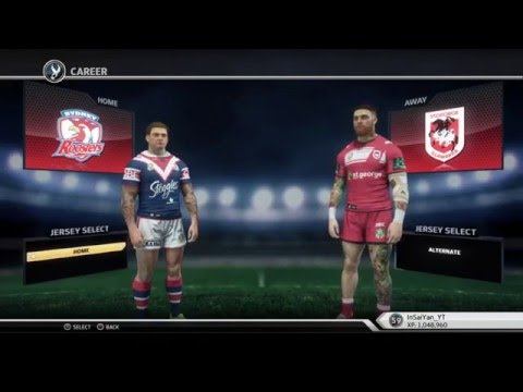Rugby League Live 3 - Roosters Career (Round 8)