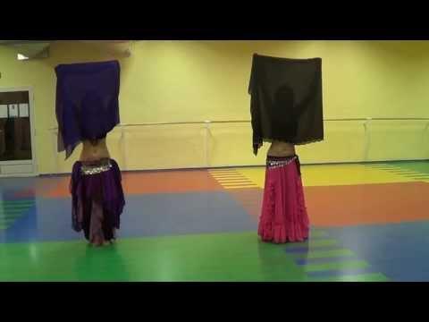 Танец с шалью.Fatima