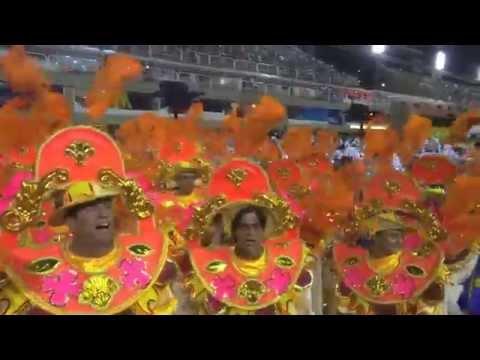 """RIO CARNIVAL 2015, """"EM CIMA DA HORA"""" SAMBA SCHOOL PREVIEW, PAUL HODGE, Ch 1, SoloAroundWorld"""