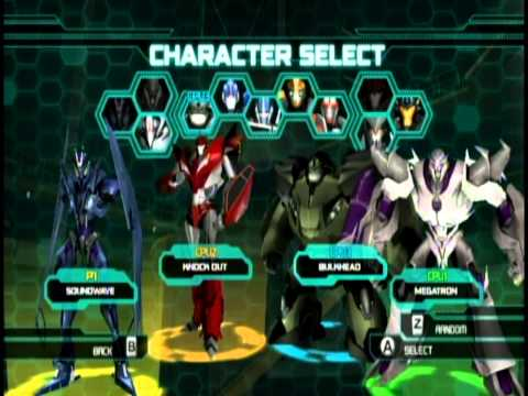 Transformers Prime The Game - Multiplayer Mode - Emblem Battle