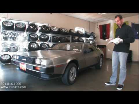 1981 Delorean FOR SALE Tony Flemings Ultimate Garage reviews horsepower ripoff complaints video