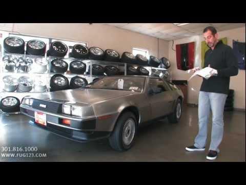 1981 Delorean FOR SALE Tony Flemings Ultimate Garage reviews horsepower ripoff complaints video