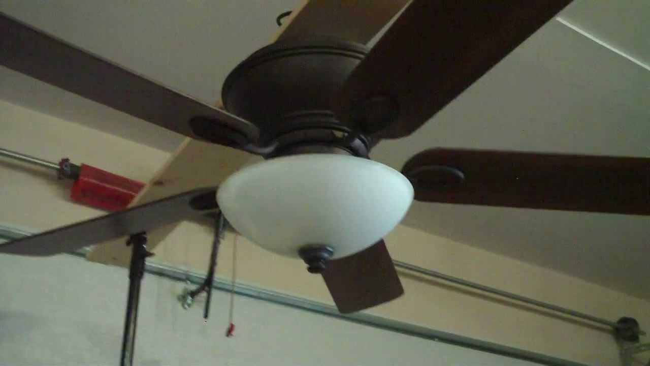 52 hampton bay renwick ceiling fan youtube - Little max ceiling fan ...