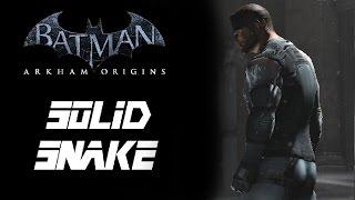 SKIN; Batman; Arkham Origins; Solid Snake