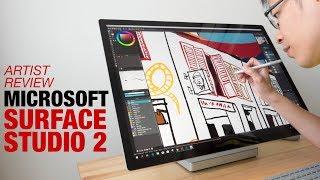 Artist Review: Surface Studio 2