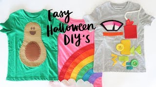 Easy and Fun Halloween Costume DIY's for Kids