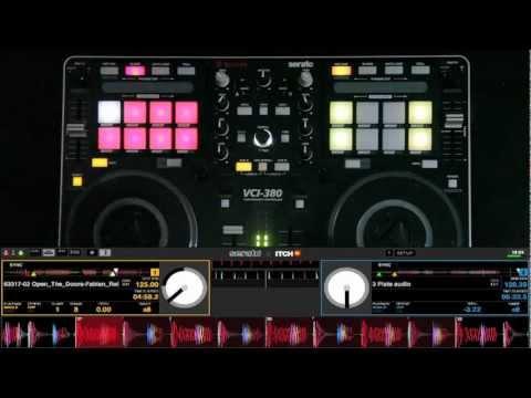 Vestax VCI-380 DJ MIDI Controller walkthrough with Serato ITCH