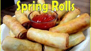 How to make Spring Rolls at home | Indian Cooking Recipes | Ramadan Recipes | Cook with Anisa