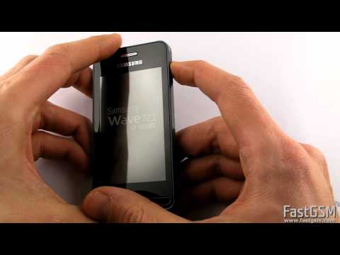 Remove SIM password on Samsung Wave 723 (S7230, S7233)