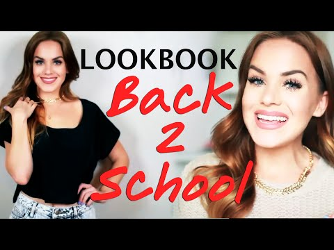 Back to School Outfit Lookbook with Mariah #RisingStars