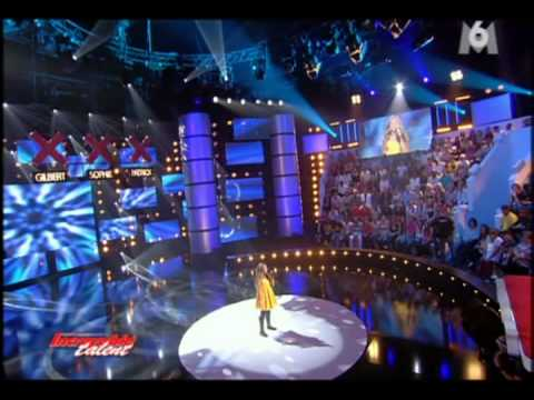 Caroline Costa à Incroyable Talent My heart will go on (TITANIC) - Demi finale (30/10/08)