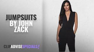 Top 10 John Zack Jumpsuits [2018]: John Zack ASOS Women's Jumpsuit Black Black