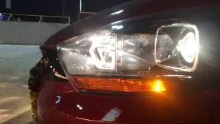 Tata Tiago Tigor JTP Headlight & Projector Lamps- Night View at 4K