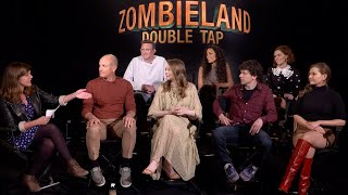ZOMBIELAND: DOUBLE TAP - Cast and Director Q&A with IGN