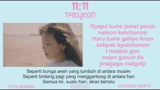 TAEYEON - 11:11 [MV, EASY LYRIC, LIRIK INDONESIA]