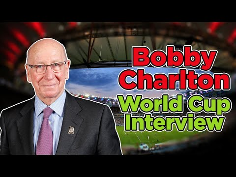 Bobby Charlton EXCLUSIVE World Cup video interview