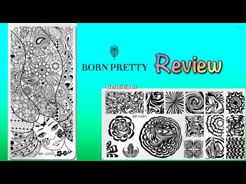 Born Pretty | Stamping Plates | Water Marble & Paisley | Review & Swatches