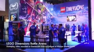 LEGO Dimensions Battle Arena Gamescom 2016 Gameplay