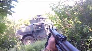 Army XCTC OpFor: Vehicle Ambush