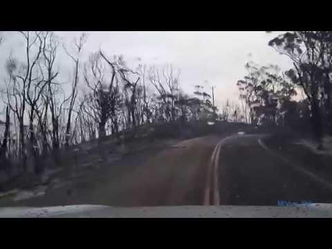 Adelaide hills bush fire 2015