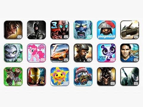 Конкурс: 50 игр от Gameloft и 10,000 рублей на покупки в App Store!