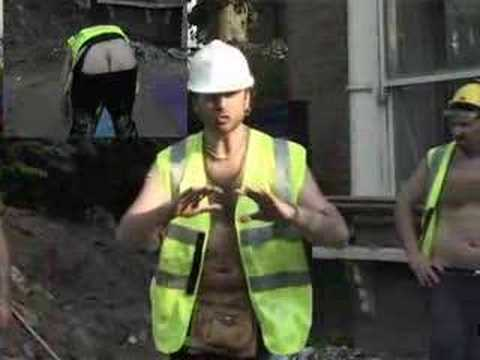 The Builders Bum Pose