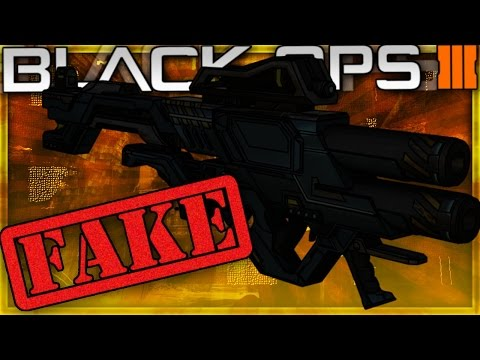 """""""LASER"""" DLC WEAPON in Black Ops 3 IS FAKE!"""