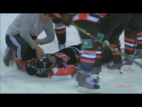 Hockey Injury Sergei Shirokov - Травма Сергея Широкова