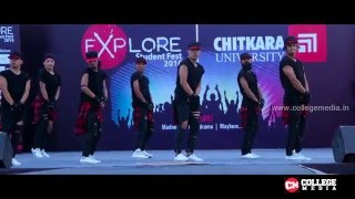 Salman Khan wala Awesome Dance | Swag Gang Crew | Explore 2016 | Chitkara University