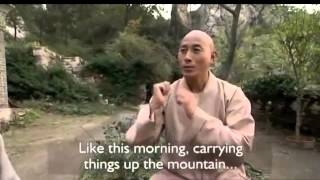 Shaolin monk answers a priest's question about Zen