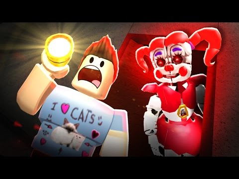 IT'S HER!! - FNAF SISTER LOCATION IN ROBLOX