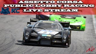 Gaming :Assetto Corsa (PC)🚗 Public Lobby Racing & SRS With Subs  (Live Stream🔴 12/06/2018)