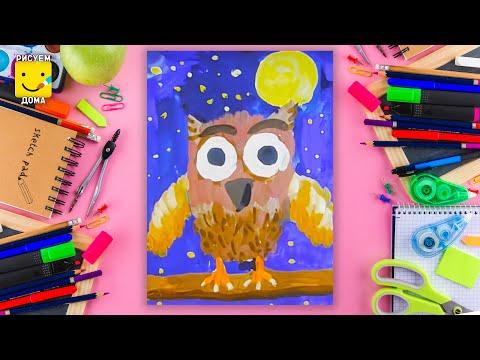 Рисуем только красками до 6 лет