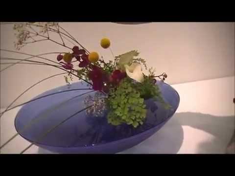 Ikenobo Ikebana Los Angeles Exhibition in June 2014