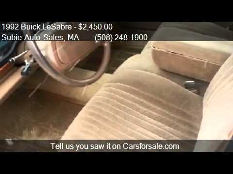 1992 Buick LeSabre  for sale in CHARLTON, MA 01507 at Subie