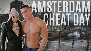 CHEAT DAY in AMSTERDAM | Full Day of Eating with Gymshark