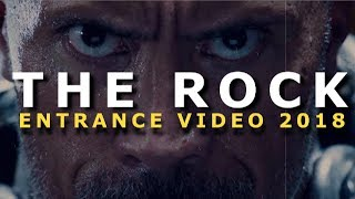 THE ROCK WWE ENTRANCE VIDEO AND THEME 2018