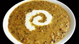 Dal Makhani / Makhni - Indian Food Andhra Cooking Telugu Vantalu Vegetarian Recipes Indian Cooking
