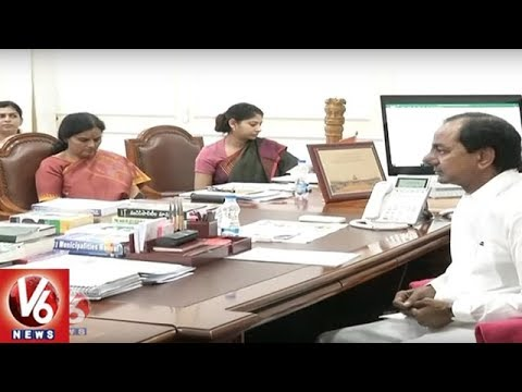 CM KCR Serious On Officials Over Delay In Rythu Bandhu Corrections And Rythu Bheema | V6 News