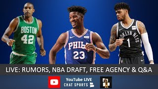 NBA Rumors, Al Horford, NBA Draft Rumors, Jimmy Butler To Rockets, D'Angelo Russell & Free Agency