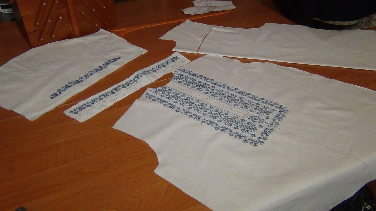 Как вышить мужскую вышиванку своими руками пошагово 29