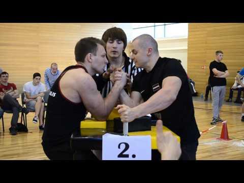 LCH 2014 -Rūdolfs Cīrulis VS Jānis Amoliņš- RIGHT HAND