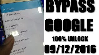 Bypass Google Account from Samsung Phones 2016 - New Method