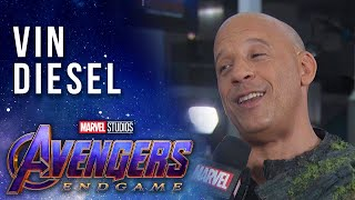 Vin Diesel at the Premiere