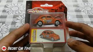 Majorette VW Beetle Summertime Vintage Box 241A-3 Orange Models 2018